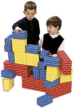 Smart Monkey Toys 1024 24pc Giant Building Block set