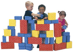 Smart Monkey Toys 1040 40 piece Giant Building Block set