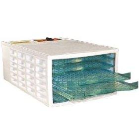 Weston Prago 75-0301-W VegiKiln Food Dehydrator With 6 Drying Trays