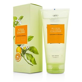 4711 196335 Acqua Colonia Mandarine & Cardamom Aroma Shower Gel for Men, 200 ml-6.8 oz
