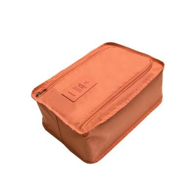 Best Desu 08102015OR Travel Shoe Organizer - Orange