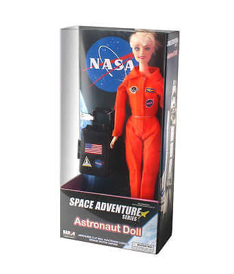 Flight Attendant Dolls DA347 Astronaut Doll In Orange Suit
