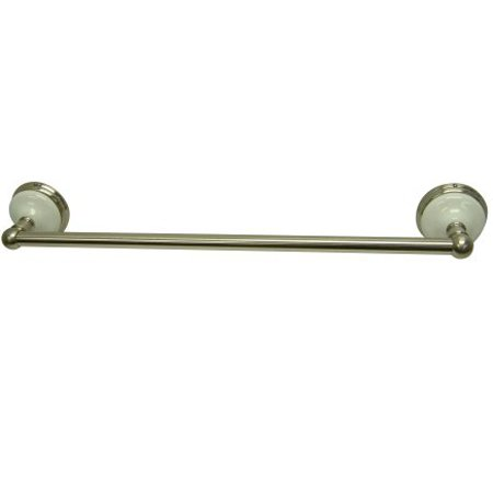 Kingston Brass BA1111SN Victorian 24 Inch Towel Bar - Satin Nickel