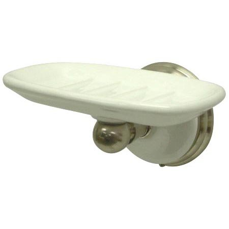 Kingston Brass BA1115SN Victorian Soap Dish - Satin Nickel