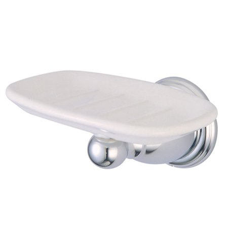 Kingston Brass BA1755C Heritage Soap Dish - Polished Chrome
