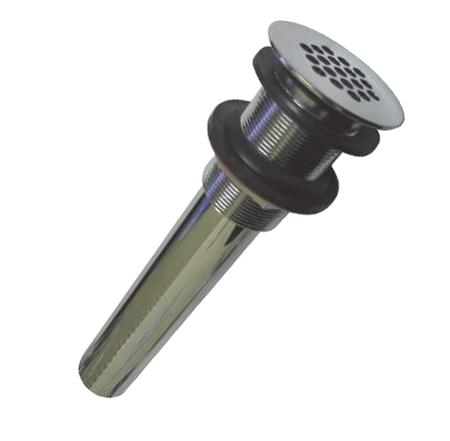 Kingston Brass KB4001 Kingston Solid Grid Drain For Vessel Sink - Polished Chrome