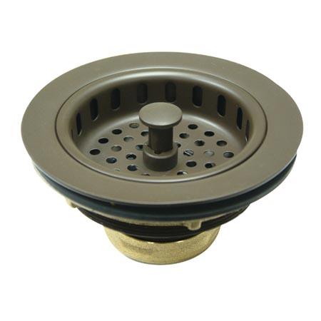 Kingston Brass KBS1005 Kitchen Sink Strainer - Oil Rubbed Bronze