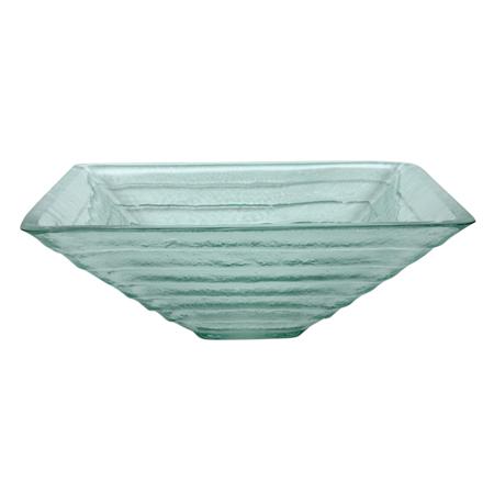 Kingston Brass CV1616VCG Kingston Crystal Glacier Vessel Sink