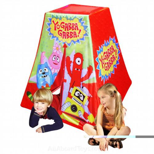 Kid's Adventure 92001BRN Yo Gabba Gabba Play Structure Play Tent